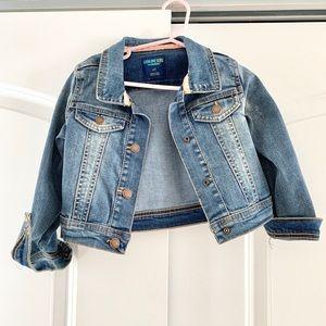 Genuine Kids OshKosh denim jean jacket some wear